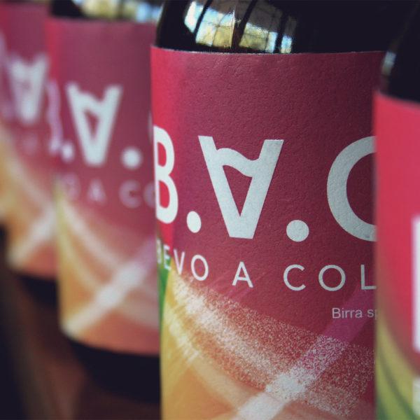 B.A.C. Original Beer Label